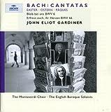 Bach - Easter Cantatas BWV 6 & 66 / Fink, Davislim, Clarkson, Chance, Padmore, Henschel, The Monteverdi Choir, The English Baroque Soloists, Gardiner