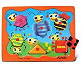 Puzzled Peg Puzzle, Insects