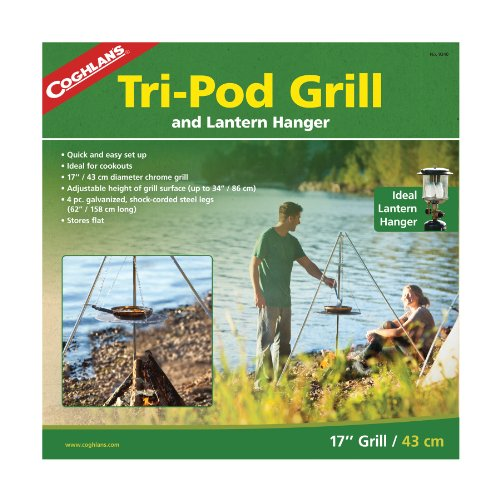 Coghlan's Tri-Pod Grill and Lantern Hanger, Outdoor Stuffs