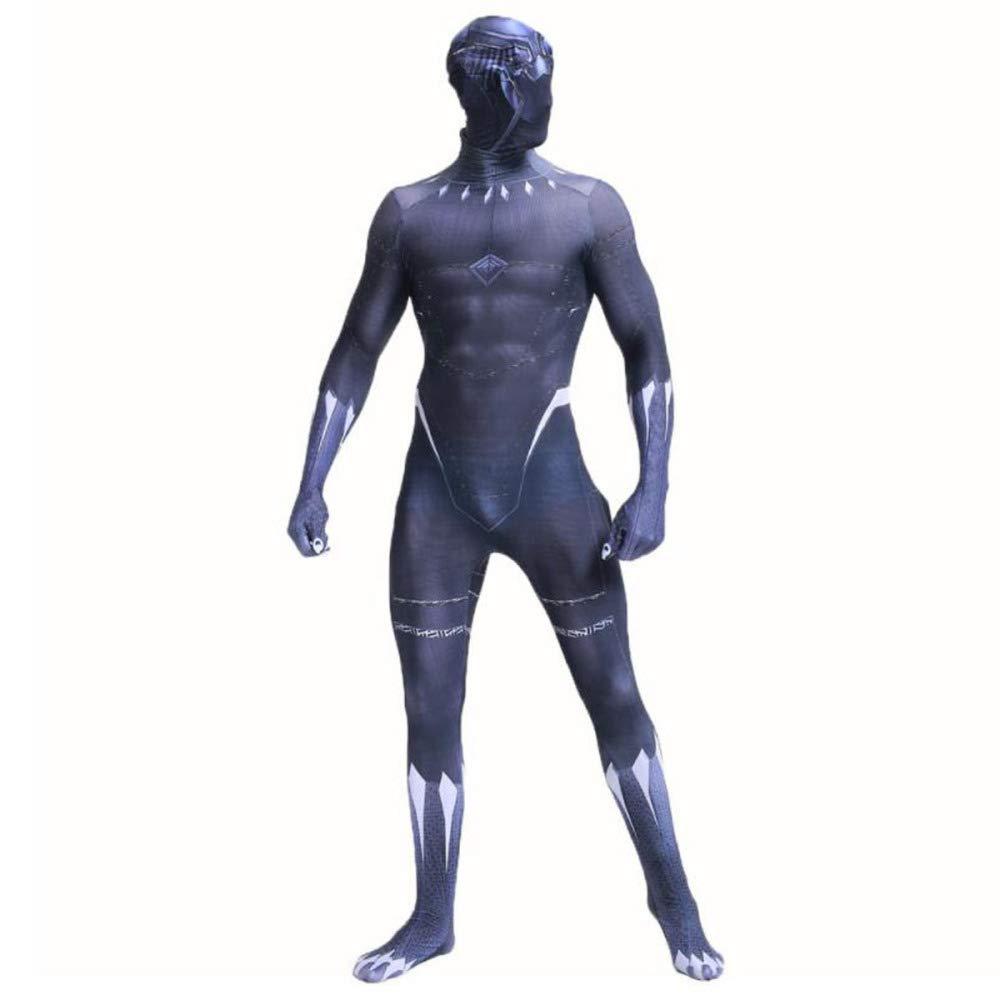 KYOKIM Avengers 3 Schwarze Schwarze Schwarze Panther-Anime-Strumpfhose, Cosplay-Kostüm Von Marvel Movie,Adult-L 8ed57a