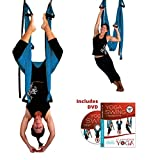 Turquoise Yoga Inversion Swing + Yoga Swing DVD by Chris Acosta