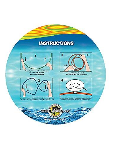 Swim Thru Rings, 3 Pack (Premium pack) by Water Sports. (Image #2)