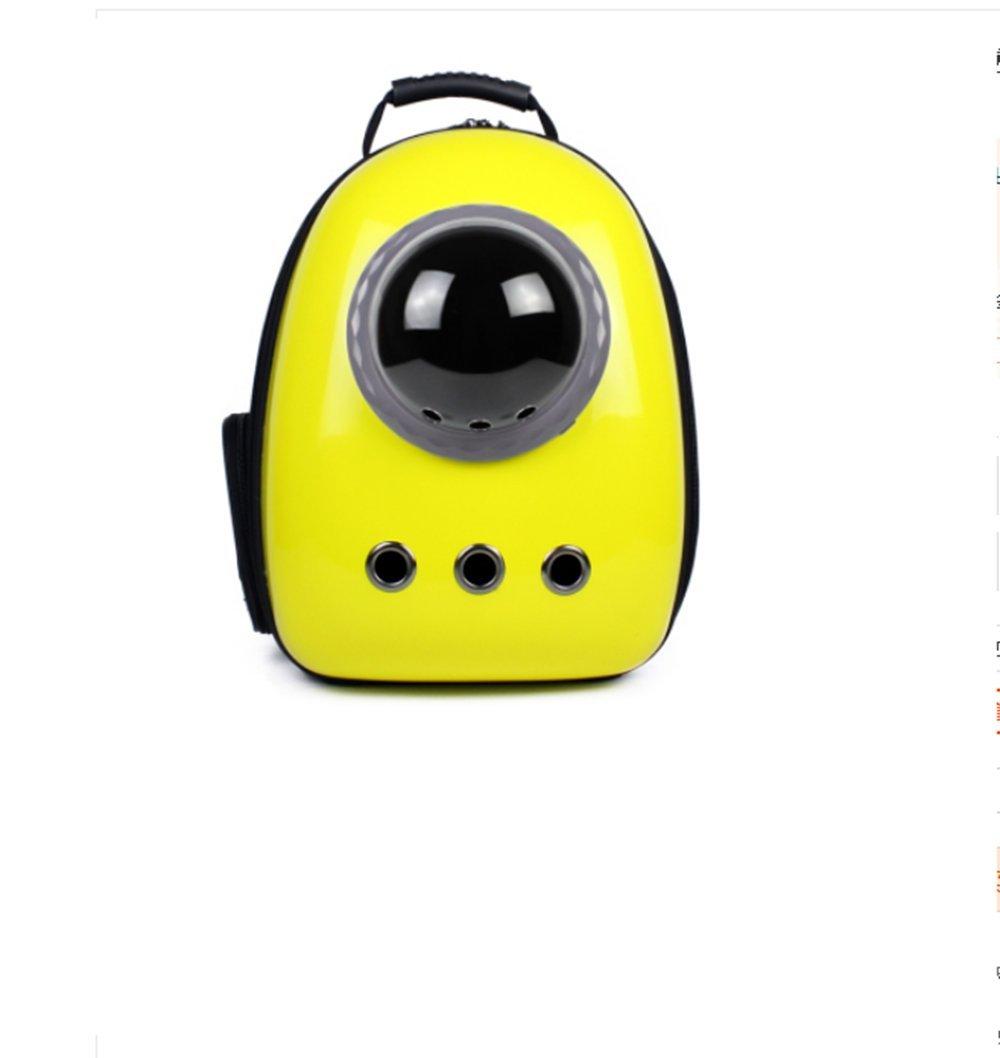 acquista marca CIDX Zaino Per Per Per Astronauta Zaini Per Gatti Zaino Spaziale Zaini Per Animali Domestici Borsa Per Il Trasporto Borsa Per Gatti Borsa Per Gatti Borsa Per Gatti (Colore   giallo)  negozio outlet