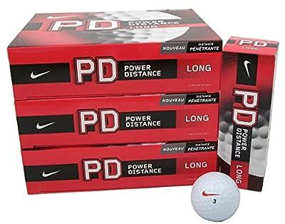 3 Dozen NEW Nike Power Distance Long Golf Balls White 36 Total Retail: $75.00