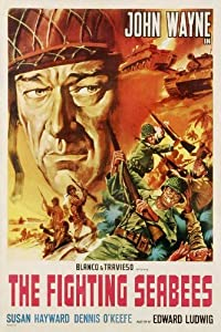 The Fighting Seabees POSTER Movie (27 x 40 Inches - 69cm x 102cm) (1944) (Style B)