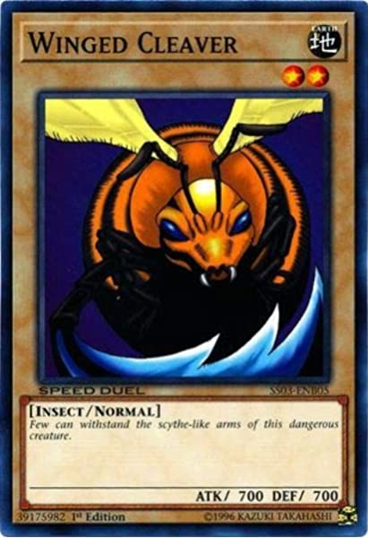 Yugioh Big Insect SS03-ENB03 1st Edition Common