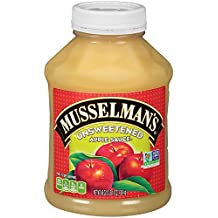 Musselman's Unsweetened Apple Sauce, 46 Ounce (Pack of 8)