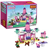 COGO Girls Princess Fairy Tale Castle Building Blocks Toys for Girls Construction Bricks Education Learning Toy Sets 178 Pieces 3272