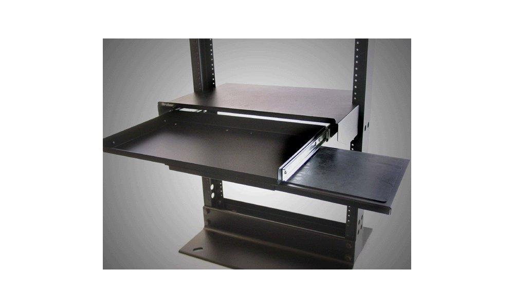 Racksonic Sliding Keyboard & Mouse Shelf 19'' Rack Mount 2U Space