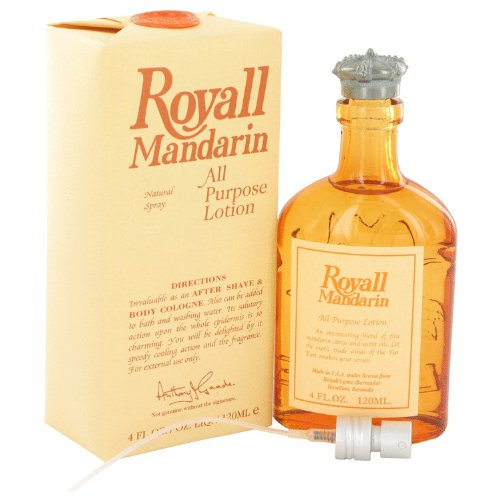 Royall Mandarin Orange By Royall Fragrances Aftershave Lotion Cologne Spray 4 ()