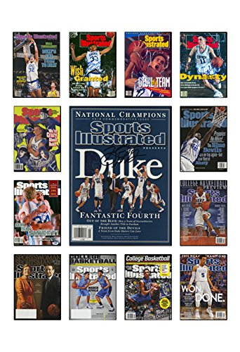 Duke Blue Devils Sports Illustrated Cover Collection ()