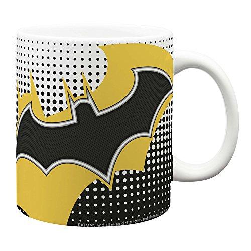 Zak Designs BTMC-8721 DC Comics Coffee Mugs, Jumbo Ceramic, Batman J (Jumbo Ceramic Mug)