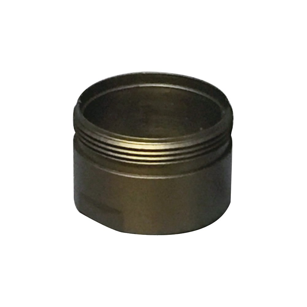 Rohl 9.25257EB Perrin and Rowe New Style Outlet Nipple M28 X 1 Ring Aerator Outer Ring Only in English Bronze for U.3248 U.3249 U.3258 and U.3259 Deck Mounted Tub Spouts