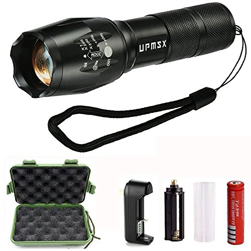 900 lumen tactical flashlight - 7