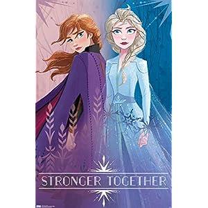 Trends International Disney Frozen 2 – Sisters, 22.375″ x 34″, Unframed Version