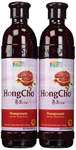 Chung Jung One Hong Cho: Drink Mix Concentrate with Vinegar (30.4oz) (900ml