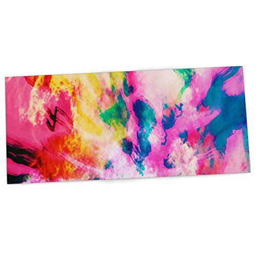 kess-inhouse-caleb-troy-technicolor-clouds-office-desk-mat-blotter-pad-mousepad-13-x-26-inches