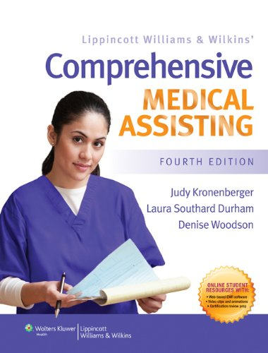 LWW Comprehensive Medical Assisting Text & Study Guide Package by Judy Kronenberger PhD RN CMA(AAMA)