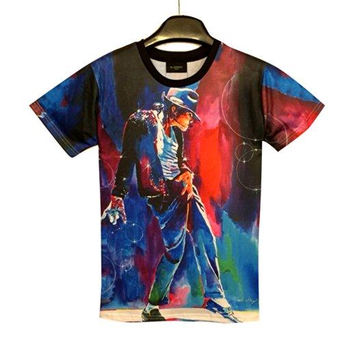History Michael Jackson Shirt MJ Short Sleeve T Shirt (XL)