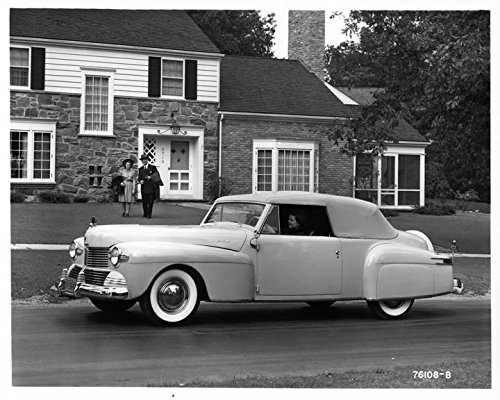 Review 1942 Lincoln Continental Convertible