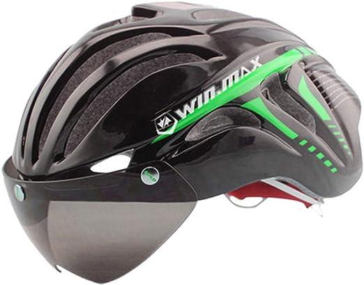 JIAAN Cycling Helmets Casco de Bicicleta,Casco de Bicicleta para ...