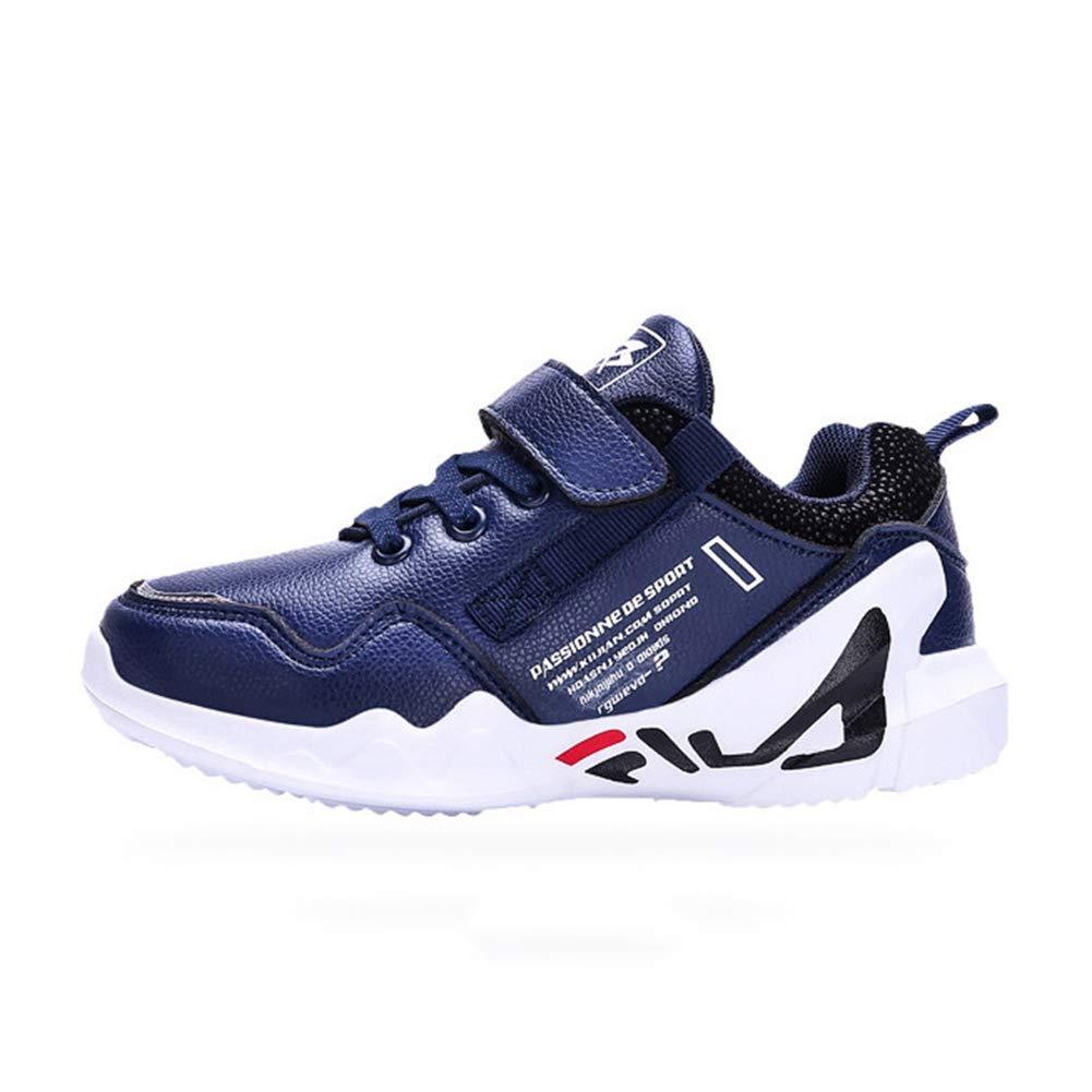 Little Kid//Big Kid F-OXMY Boys Non-Slip Sport Running Shoes Waterproof Outdoor Hiking Athletic Sneakers