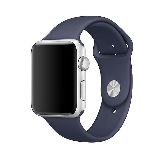 15 opinioni per Cinturino Apple Watch, XMDirect morbido Silicone Sport Band Cinturini di