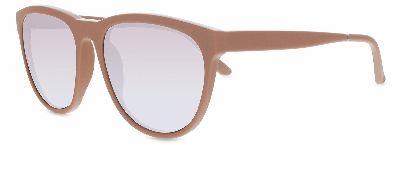 Smoke X Mirrors Passenger Unisex Sunglasses SM138 Based in New York City, Handmade in France (Pink, Silver Mirror)