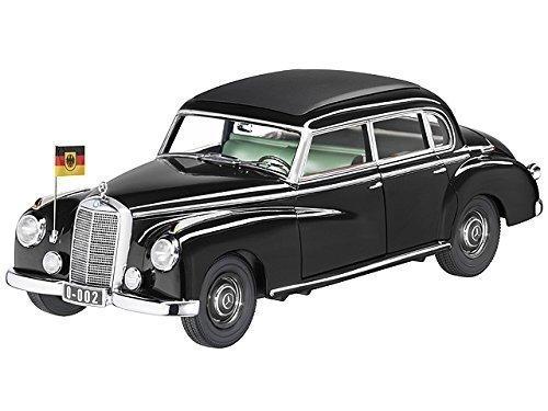 Mercedes-Benz 300, W 186 schwarz, Norev, 1:18