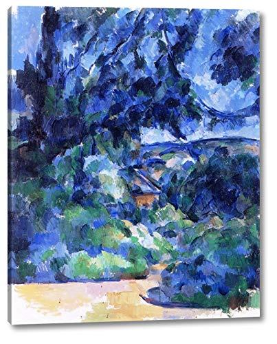 Blue Landscape by Paul Cezanne - 11