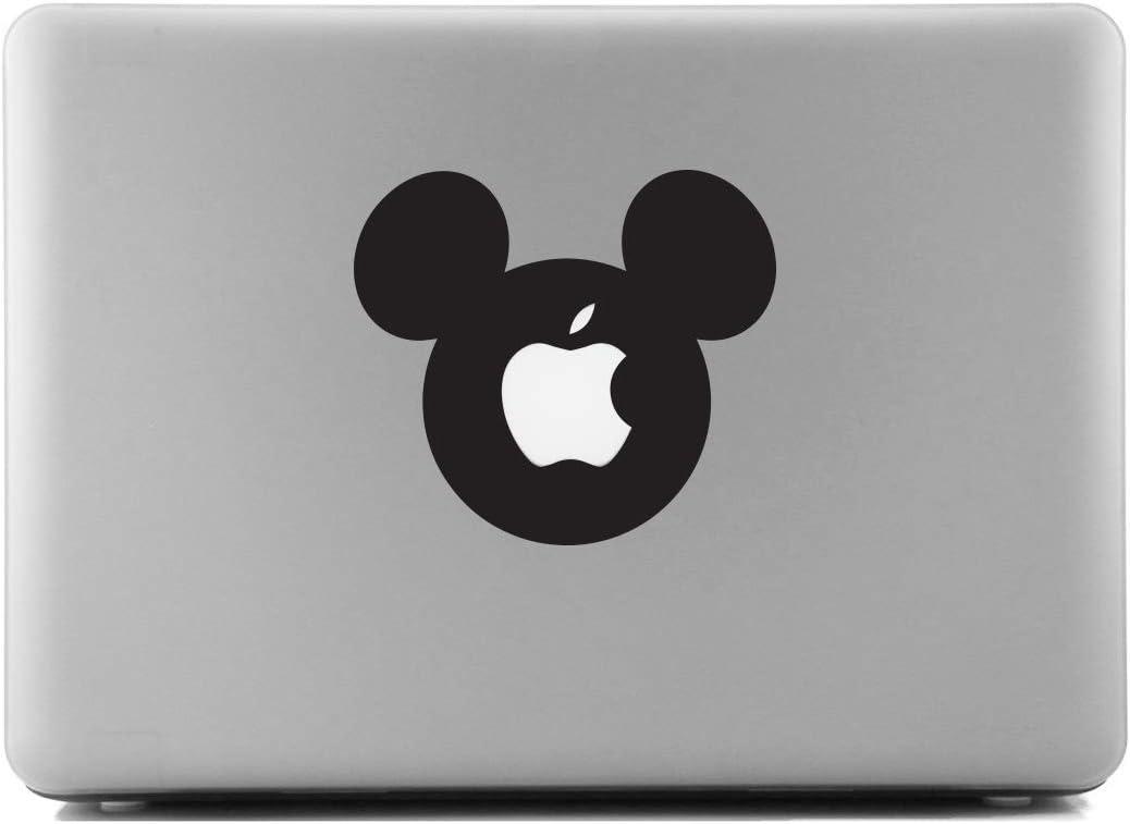 Mickey Ears Black SCI-FI/Comics/Games Laptop Skin Decal