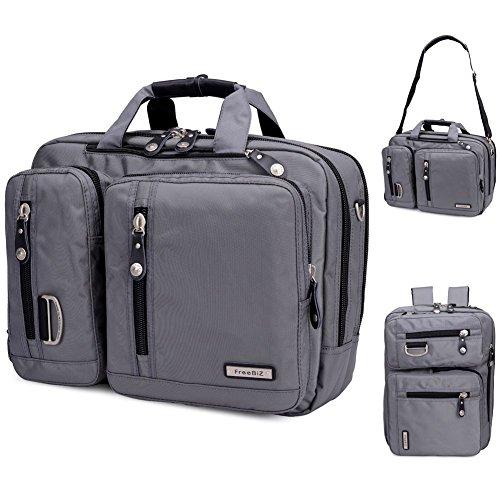 FreeBiz 15-Zoll-Laptop-Tasche Multifunktions -Laptop-Aktenkoffer -Rucksack mit Tragegriff und Schultergurt Passend bis zu 15,6 Zoll Gaming Laptops für Dell, Asus.Msi