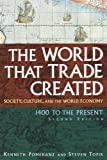 The World That Trade Created: Society, Culture, and the World Economy 1400 to the Present (Stories and Studies in World History), Kenneth Pomeranz, Steven Topik, 0765617080