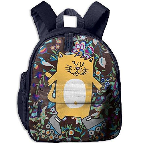 - Children Pre School Backpack Boy&girl's Roller Shoes Cat Book Bag