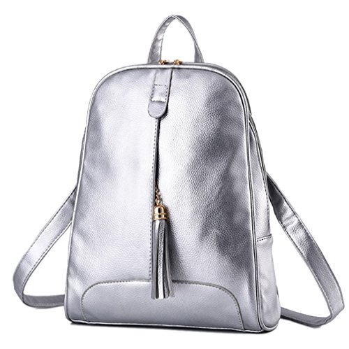 lover handbag Mujer Para Yr Mochila Bolso Plata 6fq8xw4