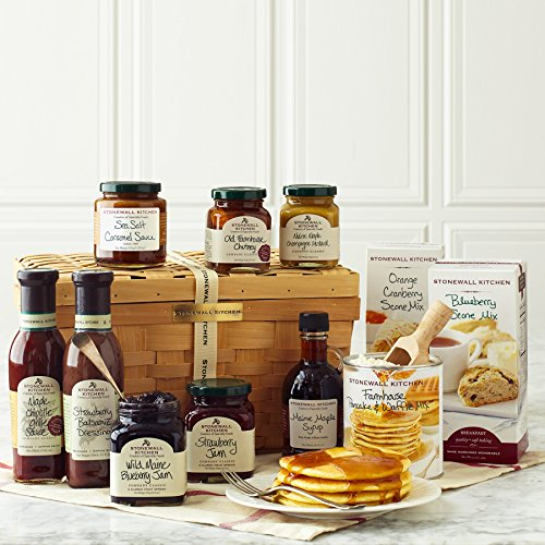 Stonewall Kitchen Gift Collection and Sets - Multiple Options (11 Piece Taste of New England Gift Basket)