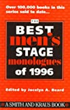 The Best Men's Stage Monologue of 1996, , 1575250756