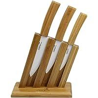 Ceraware Bambu Seri Seramik Bıçak Seti + Stand