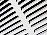 "20""w X 16""h Steel Return Air Grilles - Sidewall and Cieling - HVAC DUCT COVER - White [Outer Dimensions: 21.75""w X 17.75""h]"