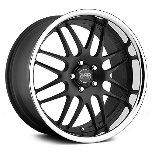 Concept One 701 RS-8 Matte Black Wheel with Painted Finish (19x10.5\