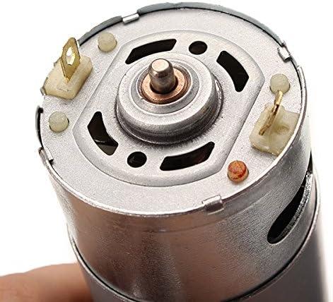DyNamic Dc 12V 300Rpm Motor/éducteur /À Couple /Élev/é 37Gb-550 R/éducteur De Vitesse Moteur