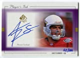 1999 Upper Deck SP Authentic JAKE PLUMMER Purple Player's Ink Auto #JPA Rare Signed Card Serial Numbered #32/100 Arizona Cardinals Autographed