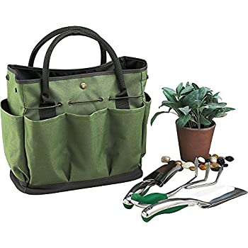 Garden Tote Bag, Gfuny Gardening Tool Kit Storage Holder Oxford Bag Home  Organizer Tote Lawn