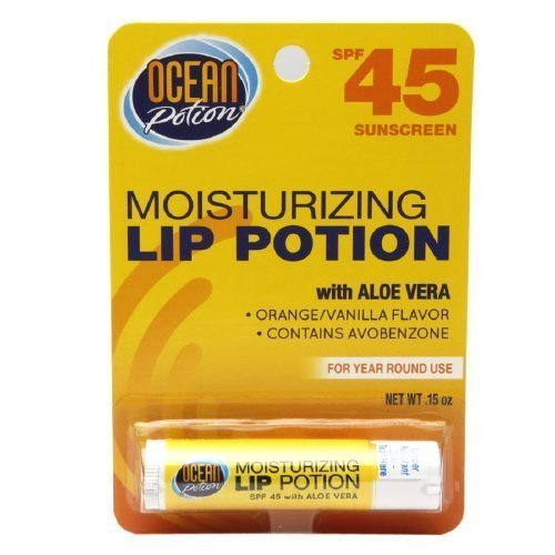 Ocean Potion Suncare Moisturizing Lip Potion, SPF 45 0.15 oz by Ocean - Suncare Potion Ocean