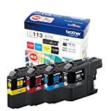 Brother industrial ink cartridge economical 4-color Pack LC113-4PK