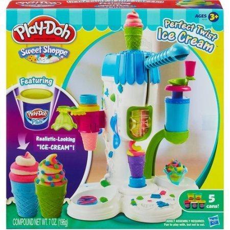 Play-Doh Perfect Twist Ice Cream Play Set, Multi