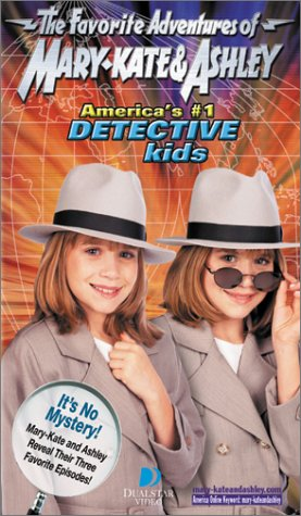 The Favorite Adventures of Mary-Kate & Ashley America's No.1 Detective Kids [VHS]
