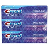 Crest 3D White Toothpaste Radiant Mint 4.8 oz (3 pack) Packaging May Vary: more info