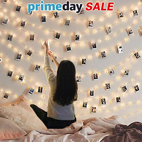 Led Photo Clip String Lights Indoor String Lights