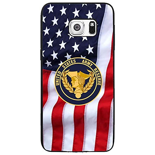 Skinsends Retro United States Army Reserve Case Cover Compatible with Galaxy s6 Edge Plus, Hard Plastic Phone Cover Compatible with Samsung Galaxy s6 Edge Plus